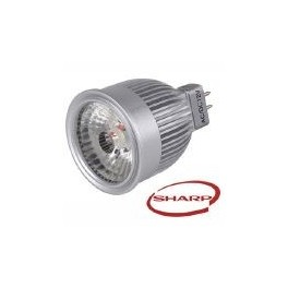 LED 6W - MR16/GU5.3 - BLANC CHAUD